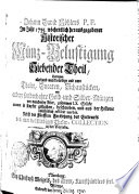 Johann David Köhlers, P.P. Im Jahr 1735. wöchentlich herausgegebener Historischer Münz-Belustigung