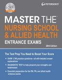 Master the Nursing School   Allied Health Entrance Exams