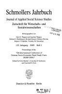 Zeitschrift F R Wirtschafts Und Sozialwissenschaften