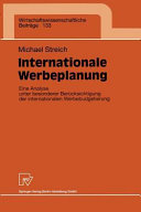 Internationale Werbeplanung