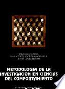 Metodolog A De La Investigaci N En Ciencias Del Comportamiento