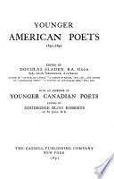 Younger American Poets  1830 1890