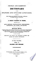 Neuman And Baretti S Dictionary Of The Spanish And English Languages