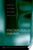 Psychological Injuries