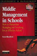 Middle Management in Schools