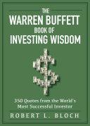 Warren Buffett Book of Investing Wisdom Book