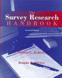The Survey Research Handbook