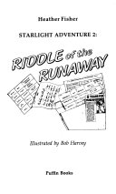 Riddle of the Runaway Book PDF
