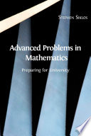 Advanced Problems In Mathematics