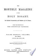 The monthly magazine of the holy rosary  under the direction of the Dominican fathers