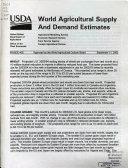 World Agricultural Supply and Demand Estimates