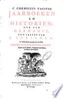 Jaarboeken En Historien Ook Zyn Germani En T Leeven Van J Agricola