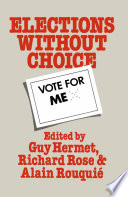 Elections Without Choice
