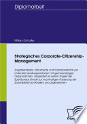 Strategisches Corporate-Citizenship-Management