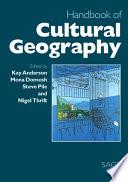 Handbook of Cultural Geography