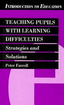 Teaching pupils with learning difficulties