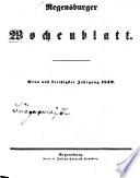 Regensburger Wochenblatt