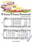 O Come O Come Emmanuel   Elementary Piano Sheet Music Junior Edition