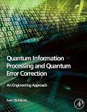 download ebook quantum information processing and quantum error correction pdf epub