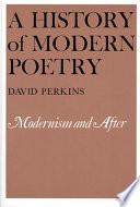 A History of Modern Poetry