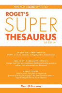 Roget s Super Thesaurus