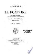 Oeuvres de Jean de la Fontaine