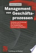 Management Von Gesch Ftsprozessen