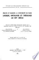 Preuve et raisons à l'Université de Paris
