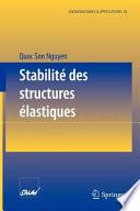 Stabilit   des structures   lastiques