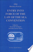 Entry Into Force of the Law of the Sea Convention