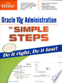 Oracle 10G Administration In Simple Steps