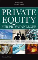 Private equity f  r Privatanleger