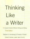 Thinking Like a Writer