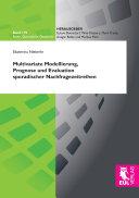 Multivariate Modellierung, Prognose und Evaluation sporadischer Nachfragezeitreihen