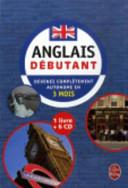 Coffret Anglais Debutant Livre 6 CD