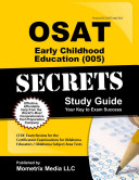 OSAT Early Childhood Education  005  Secrets Study Guide