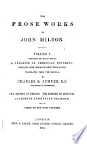 The Prose Works of John Milton ...