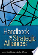 Handbook of Strategic Alliances Strategic Alliances And Serves To Pave The