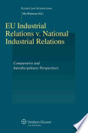 EU Industrial Relations V  National Industrial Relations