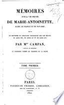 M Moires Sur La Vie Priv E De Marie Antoinette