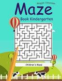 Maze Book Kindergarten