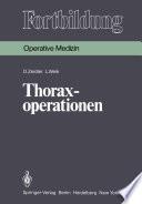 Thoraxoperationen