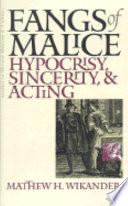 Fangs Of Malice Book PDF