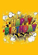 Happy Birthday  Birthday Gift Notebook Journal