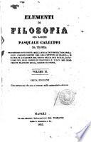Elementi di filosofia