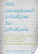 Risk Management Principles for Principals