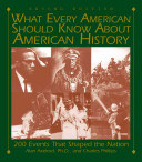 What Every Amercian Should Know about American History