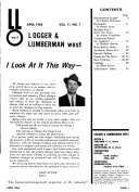 Logger and Lumberman West