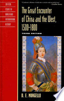 The Great Encounter of China and the West  1500 1800