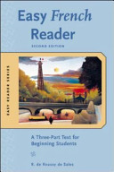 Easy French Reader  Second Edition